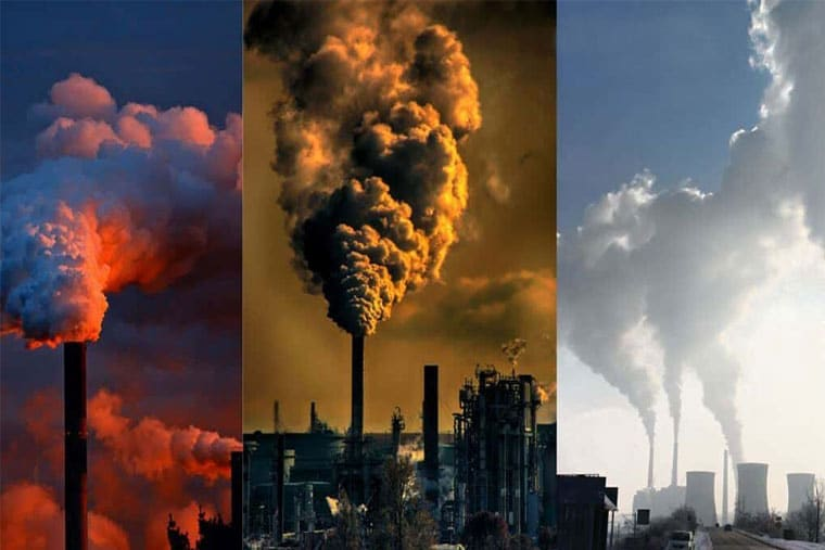 Môi trường ô nhiễm là một trong những nguyên nhân dẫn đến đau rát họng