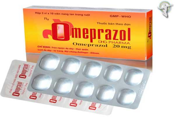 Thuốc Omeprazol dhg 20mg