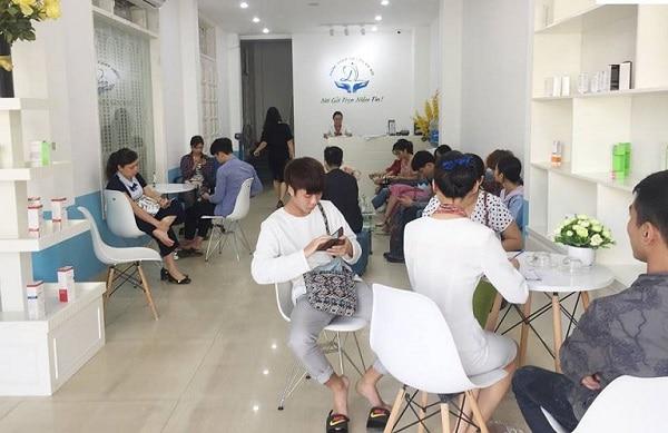 Phòng khám da liễu Hà Nội có cơ sở vật chất hiện đại