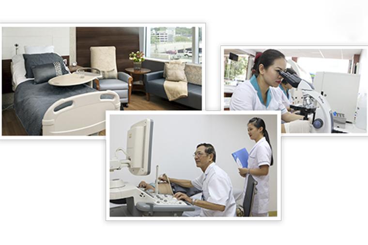 Cơ sở vật chất, trang thiết bị y tế hiện đại, chất lượng