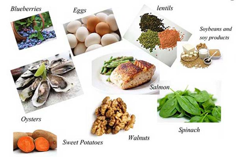 Những thực phẩm người bị rụng tóc nhiều nên ăn