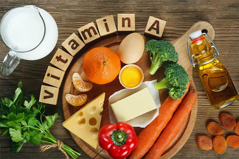 Nên ăn những thực phẩm giàu vitamin A