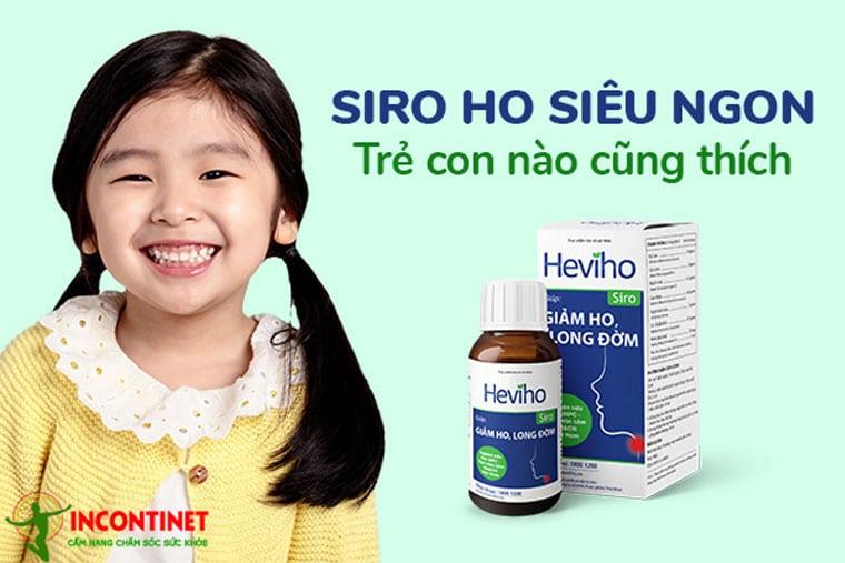 Siro Heviho dùng cho trẻ em