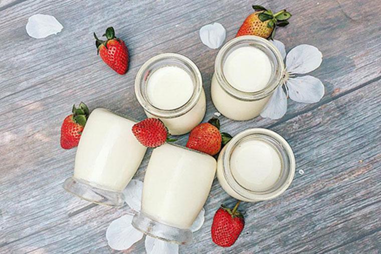 Sữa chua tốt cho bệnh viêm họng hạt