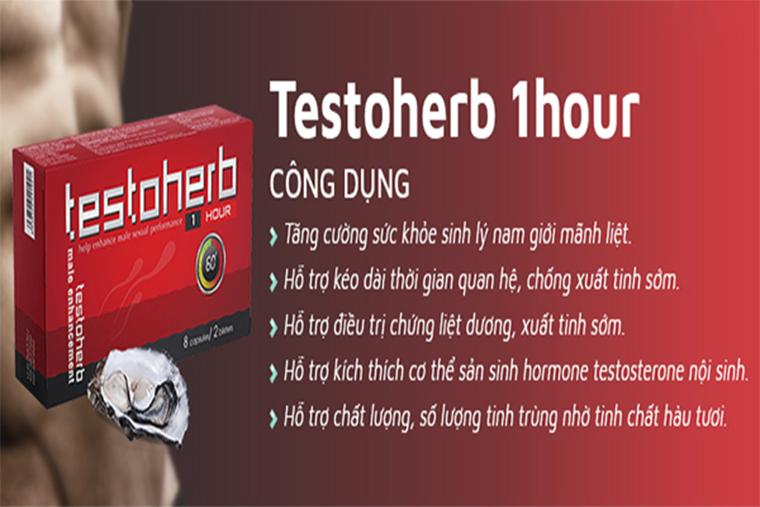Testohreb giúp cải thiện sức khỏe sinh lý cho nam giới