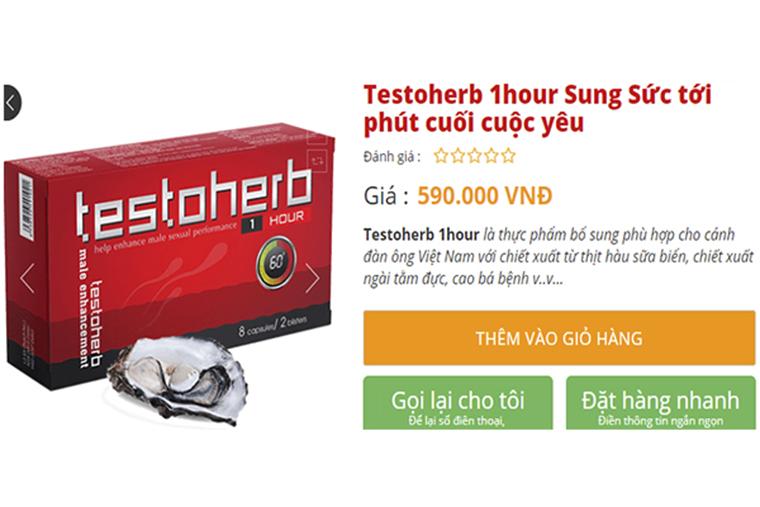 Giá tham khảo của Testohreb
