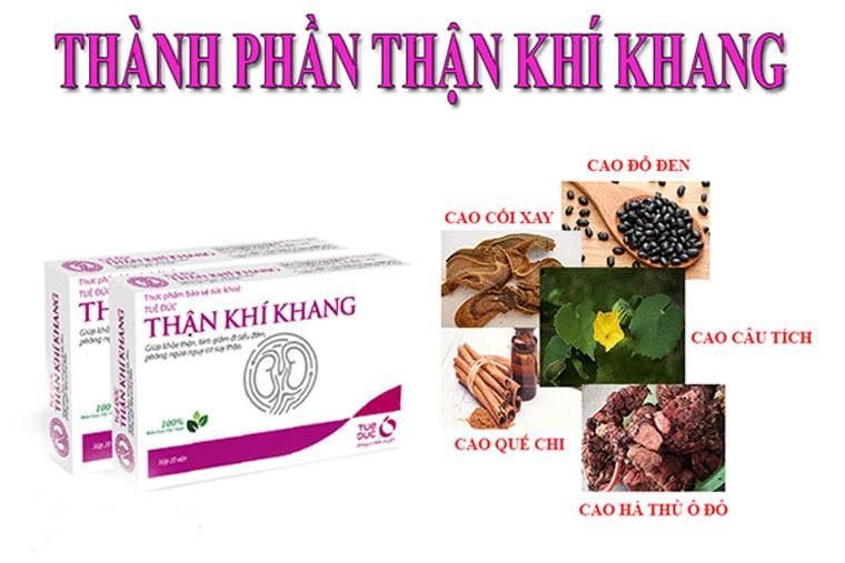 TKK có thành phần từ 100% thảo dược từ thiên nhiên