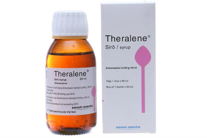 Thuốc ho Theralene dạng siro