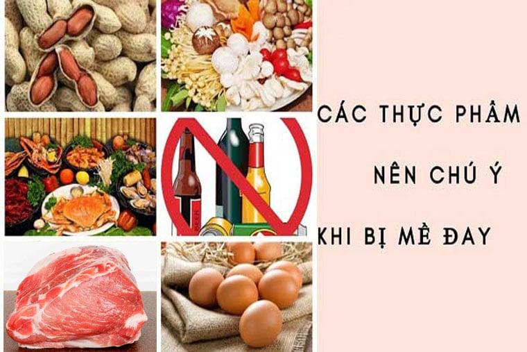 Những thực phẩm có thể gây dị ứng nổi mề đay