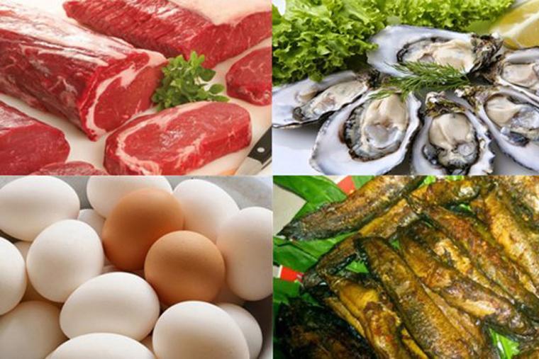 Một số thực phẩm khác tốt cho tinh trùng