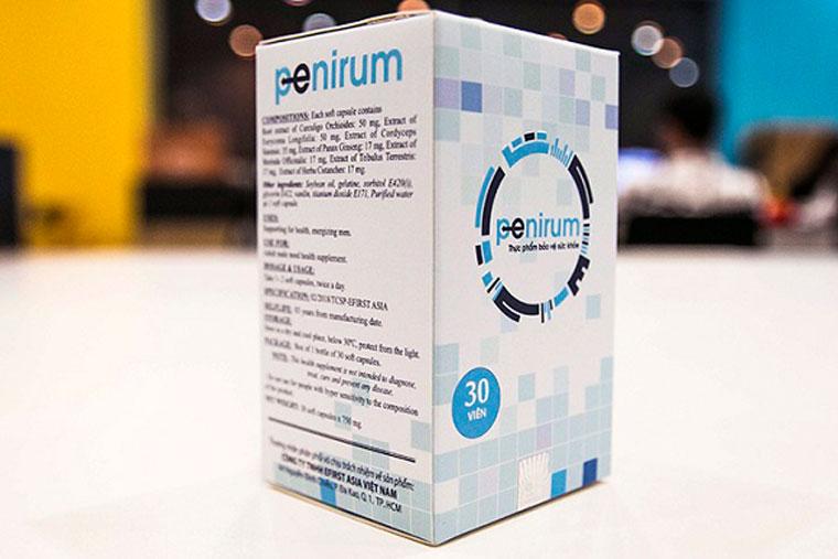 Penirum là thuốc trị xuất tinh sớm có thành phần tự nhiên