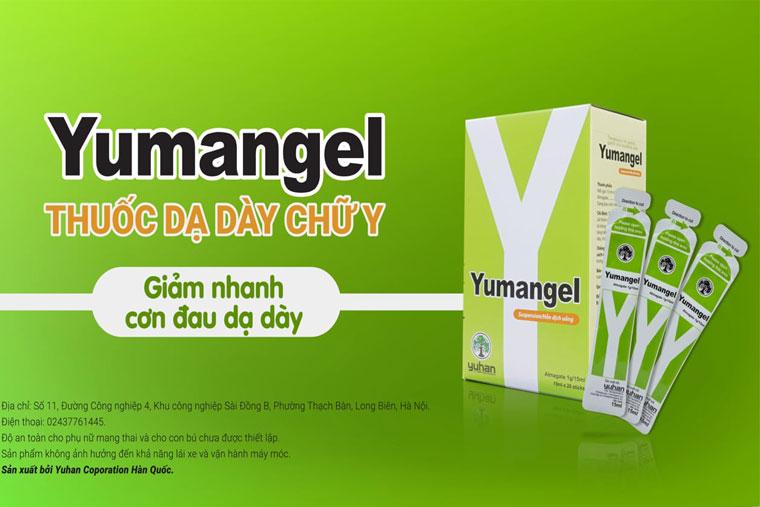 Thuốc Yumangel được sản xuất bởi YUHAN CORPORATION – Tập đoàn Dược phẩm số 1 Hàn Quốc tại Hàn Quốc