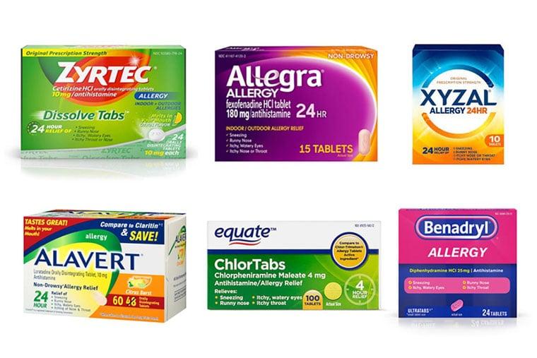 Những loại thuốc kháng histamin tổng hợp