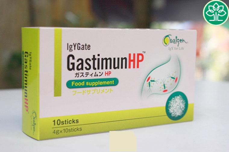 Sử dụng sản phẩm GastimunHp có kháng thể OvalgenHp làm ức chế và tiêu diệt vi khuẩn HP