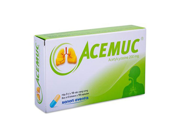 Thuốc ho Acemuc