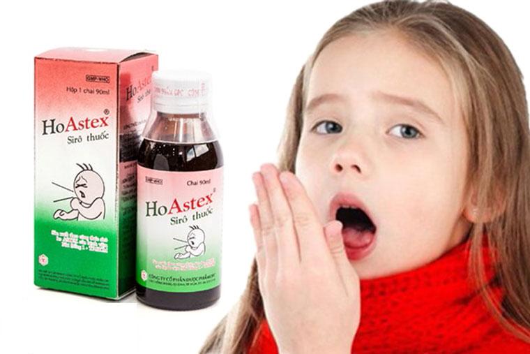 Thuốc ho Astex trị ho cho trẻ
