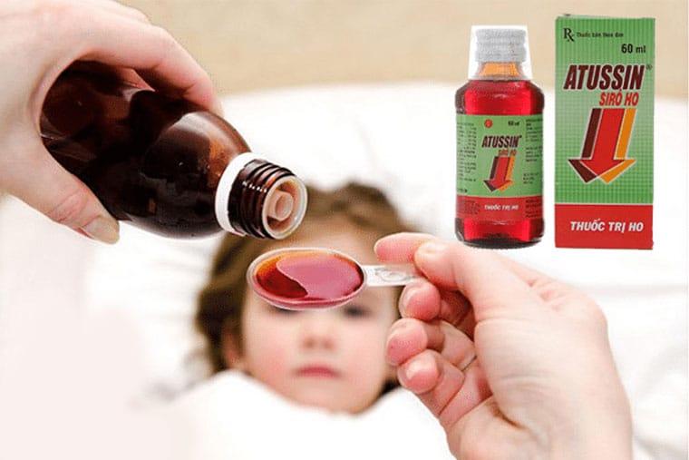 Thuốc ho Atussin cho trẻ