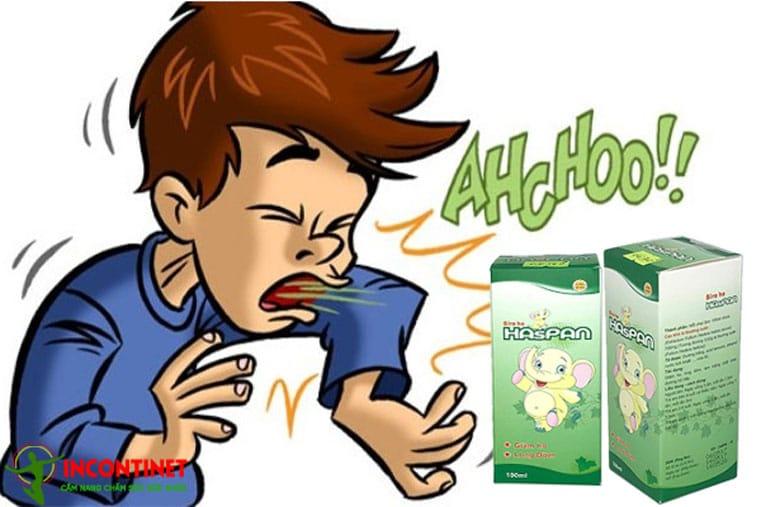 Thuốc ho Haspan đặc trị các bệnh đường hô hấp