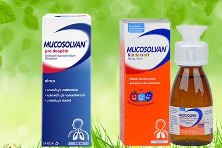 Thuốc ho Mucosolvan của Đức