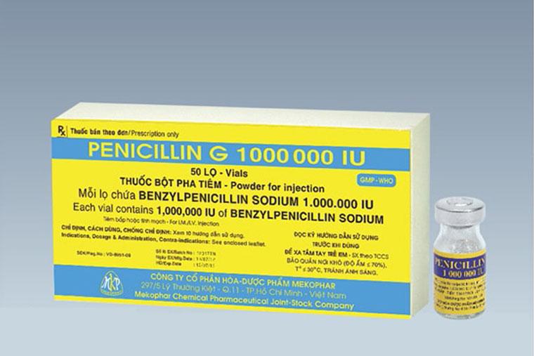 Thuốc kháng sinh chữa viêm họng Penicillin G