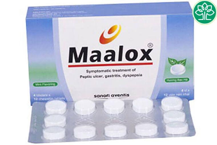 Sử dụng thuốc Maalox để điều trị các bệnh về dạ dày