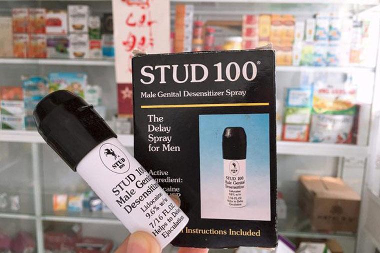 Stud 100 làm dương vật cương cứng lâu hơn, giảm kích thích mạnh mẽ