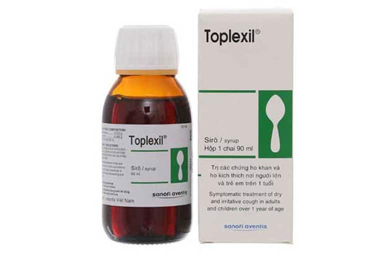 Thuốc trị ho toplexil