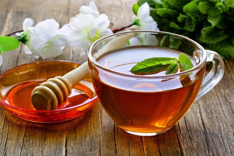Trà mật ong chữa viêm amidan hiệu quả cao