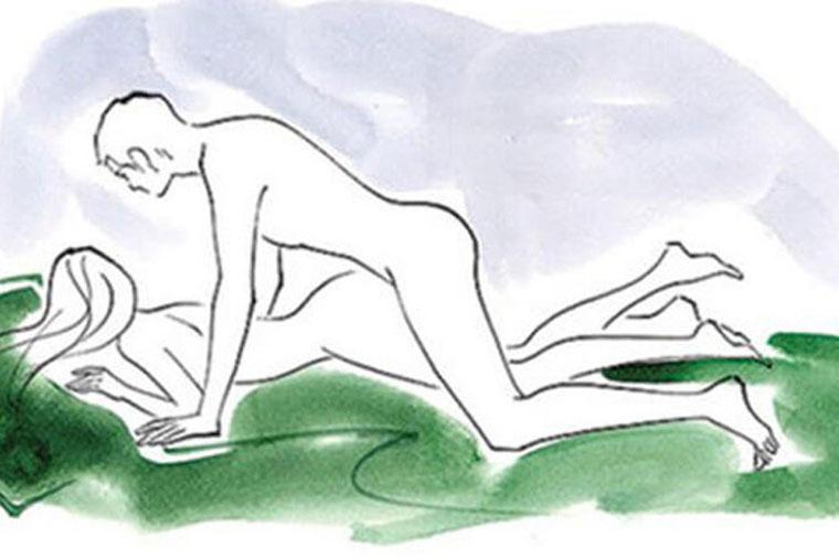 Quan hệ lâu ra nhất với tư thế quan hệ úp thẳng