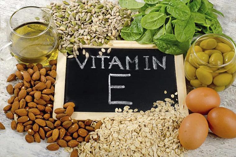 Vitamin e có tác dụng nuôi dưỡng da, tái tạo tế bào