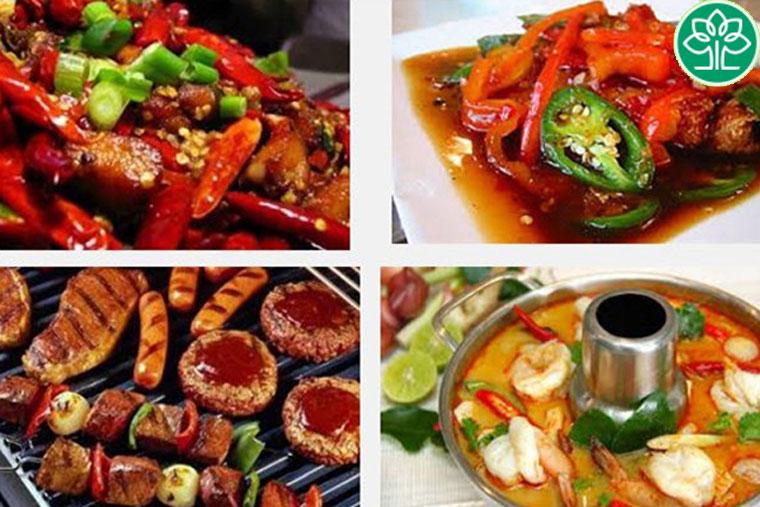 Viêm phế quản cấp cần kiêng những đồ ăn cay nóng