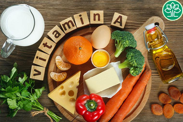 Viêm họng cấp nên ăn những thực phẩm chứa nhiều vitamin