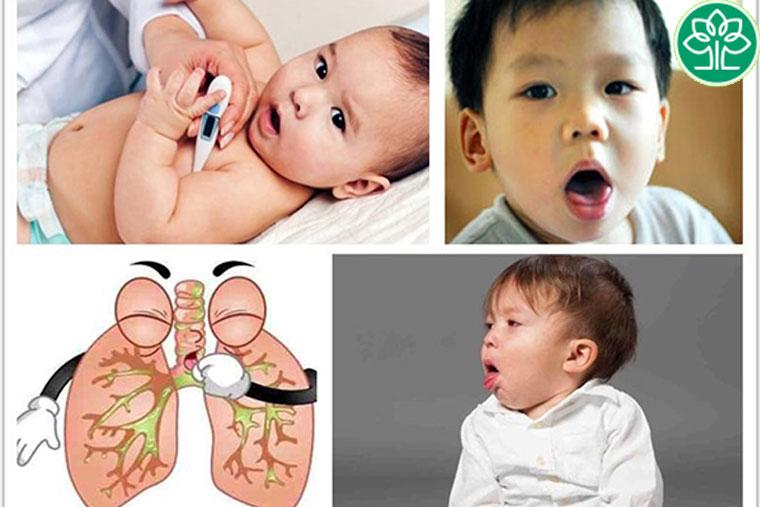 Viêm phế quản cấp ở trẻ có thể gây ho sốt