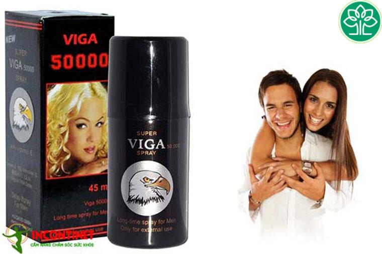 Viga là thuốc hỗ trợ kéo dài thời gian quan hệ